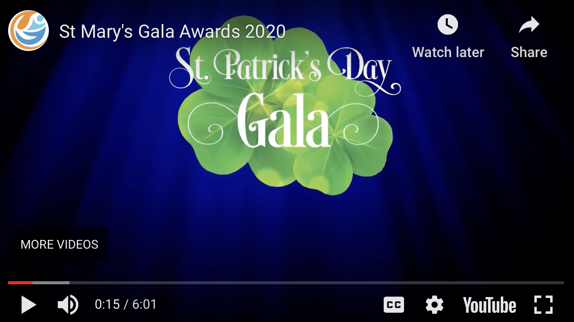 "St. Mary's Center 2020 ""St. Patrick's Day"" Gala"